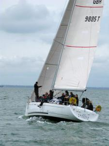 Boat: GBR 9885T  Profile, Beneteau First 40.7