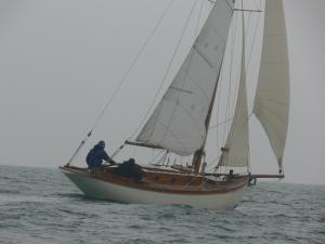 Boat: Vindilis 25 Built by Harrison Butler